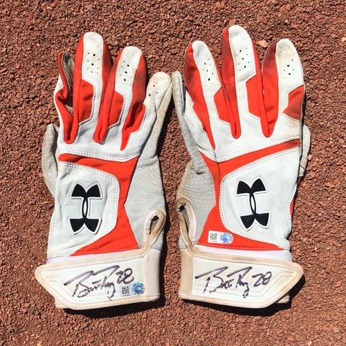 Photo of San Francisco Giants - Autographed Batting Gloves - Buster Posey