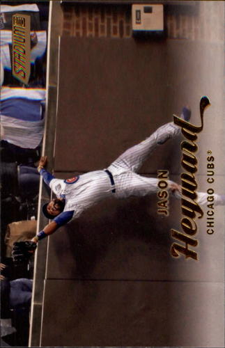 Photo of 2017 Stadium Club Gold Foil #63 Jason Heyward