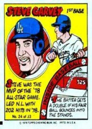 Photo of 1979 Topps Comics #24 Steve Garvey
