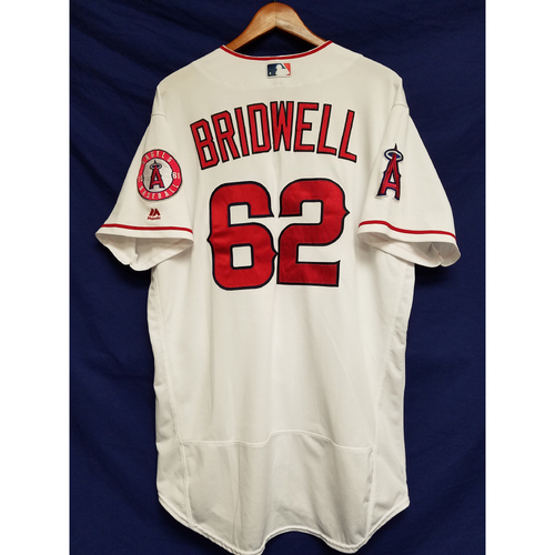 Photo of Parker Bridwell 2017 Game-Used Home Jersey