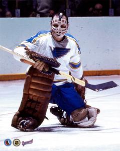 Glenn Hall St.Louis Blues Hockey Hall Of Fame Collection 8x10 Photos COMBO