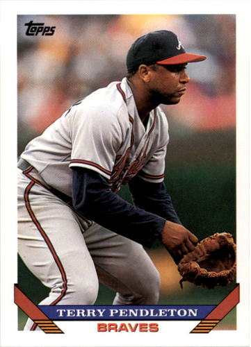 Photo of 1993 Topps #650 Terry Pendleton