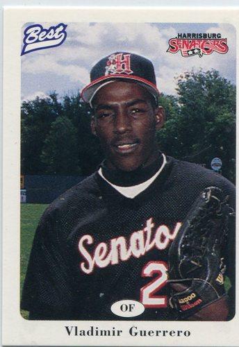Photo of 1996 Harrisburg Senators Best #14 Vladimir Guerrero