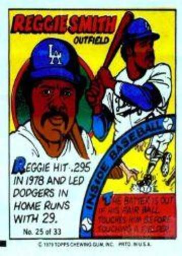 Photo of 1979 Topps Comics #25 Reggie Smith