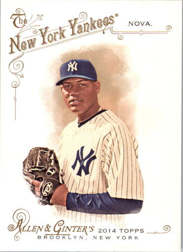 Photo of 2014 Topps Allen and Ginter #346 Ivan Nova SP