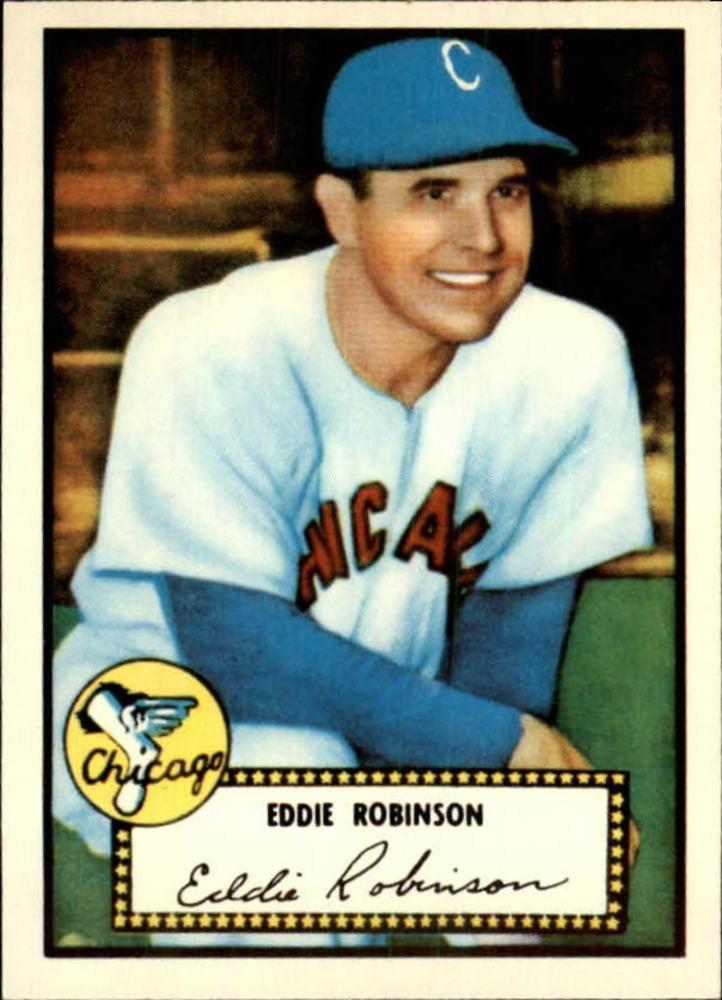 1983 Topps 1952 Reprint #32 Eddie Robinson