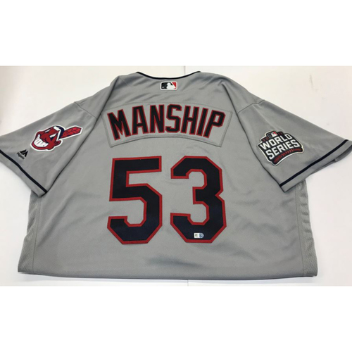 Photo of Jeff Manship Team-Issued 2016 World Series Jersey