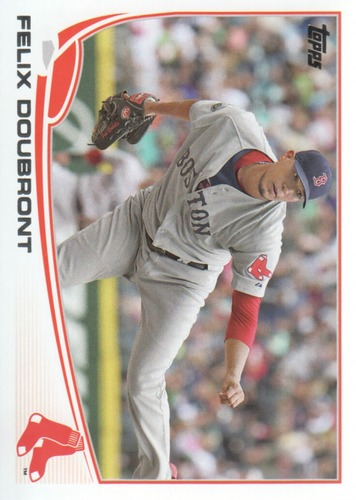 Photo of 2013 Topps #508 Felix Doubront