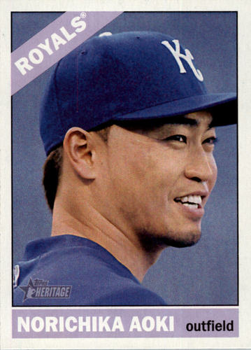Photo of 2015 Topps Heritage #86A Norichika Aoki