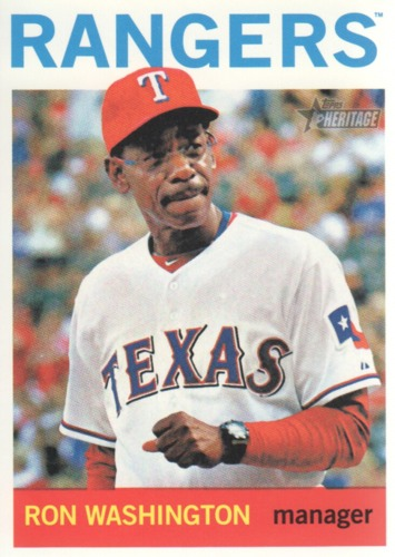 Photo of 2013 Topps Heritage #76 Ron Washington