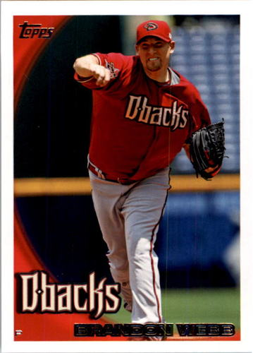 Photo of 2010 Topps #427 Brandon Webb
