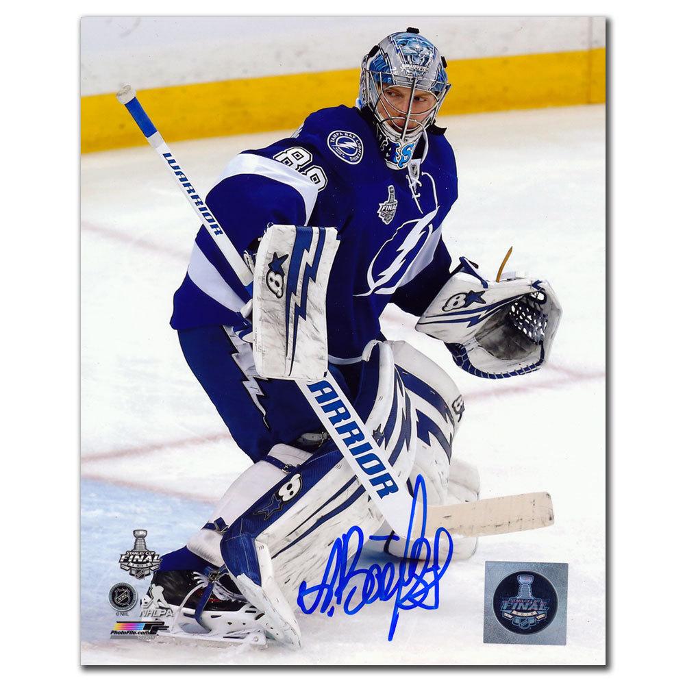 Andrei Vasilevskiy Tampa Bay Lightning Autographed 8x10