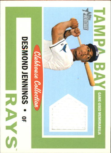 Photo of 2013 Topps Heritage Clubhouse Collection Relics #DJ Desmond Jennings