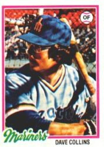 Photo of 1978 Topps #254 Dave Collins