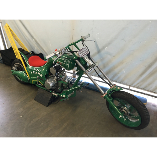 Photo of Fenway Park Motorcycle