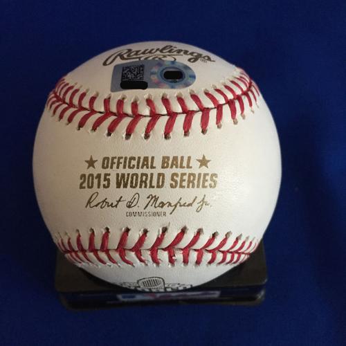 Photo of UMPS CARE AUCTION: Alex Gordon Signed 2015 World Series Baseball