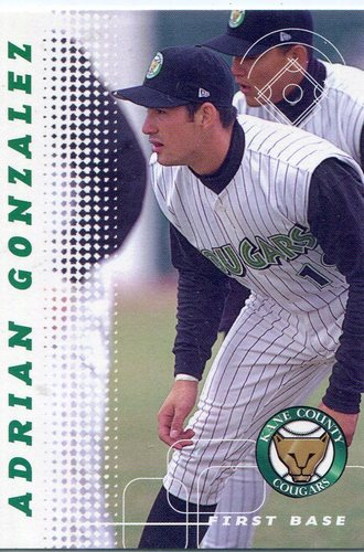 Photo of 2001 Kane County Cougars Grandstand #10 Adrian Gonzalez