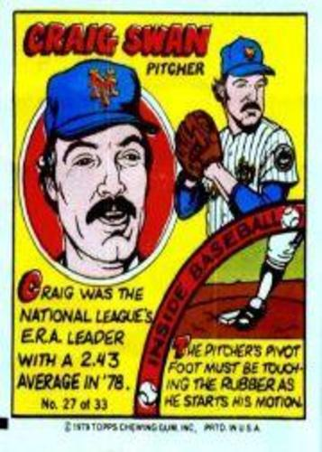 Photo of 1979 Topps Comics #27 Craig Swan