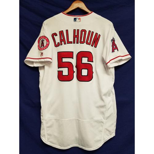 Photo of Kole Calhoun 2017 Game-Used Home Jersey