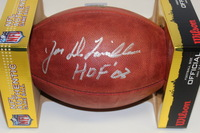 HOF - BILLS JOE DELAMIELLEURE SIGNED AUTHENTIC FOOTBALL