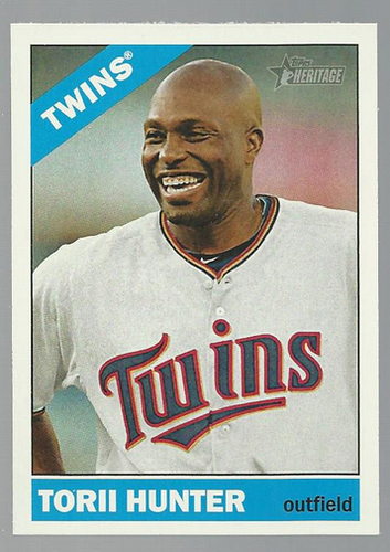 Photo of 2015 Topps Heritage #87 Torii Hunter