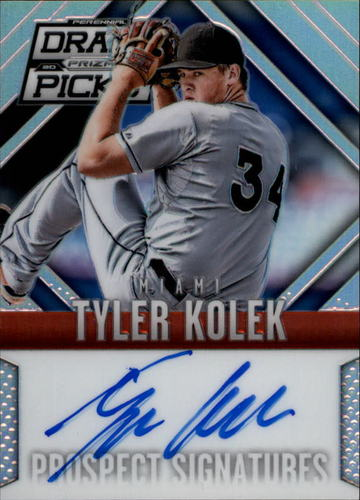 Photo of 2014 Panini Prizm Perennial Draft Picks Prospect Signatures Prizms #1 Tyler Kolek