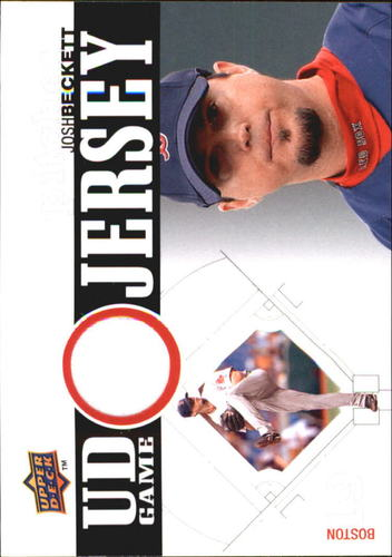 Photo of 2010 Upper Deck UD Game Jersey #BE Josh Beckett