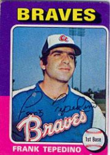 Photo of 1975 Topps #9 Frank Tepedino