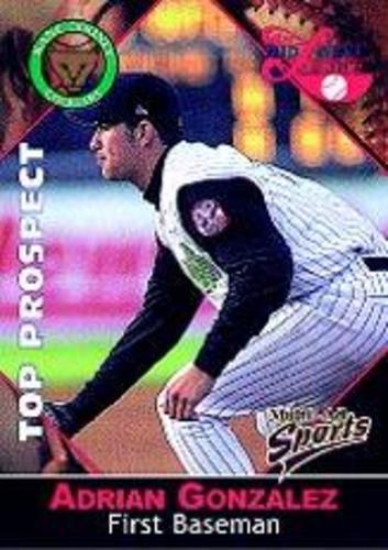 Photo of 2001 Midwest League Top Prospect Multi-Ad #15 Adrian Gonzalez