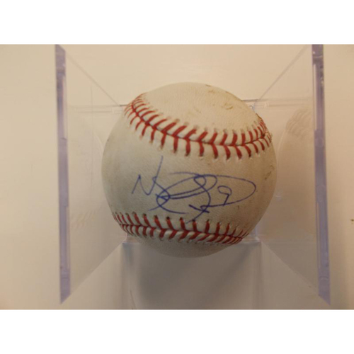 Photo of Autographed Player Collected Baseball: Nicholas Castellanos 49th Career Home Run
