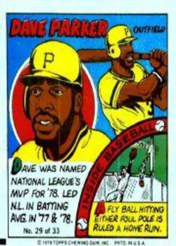 Photo of 1979 Topps Comics #29 Dave Parker