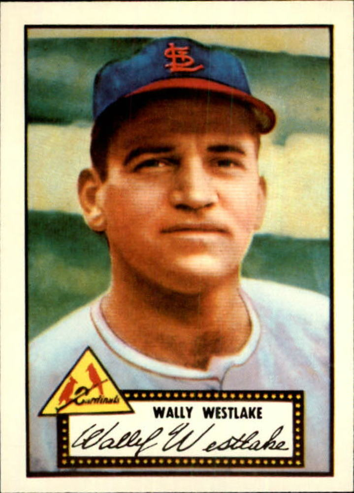 1983 Topps 1952 Reprint #38 Wally Westlake