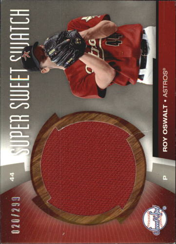Photo of 2006 Sweet Spot Super Sweet Swatch #RO Roy Oswalt Jsy/299