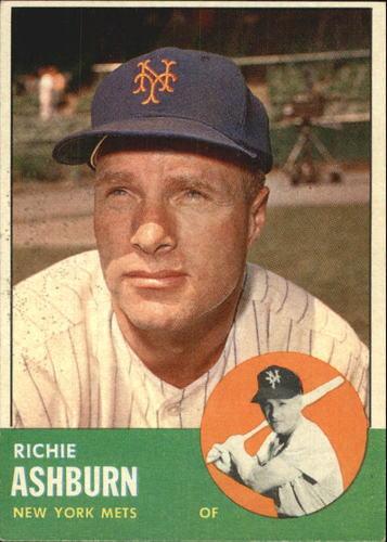 Photo of 1963 Topps #135 Richie Ashburn
