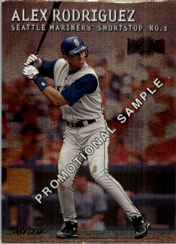 Photo of 2000 Metal #P100 Alex Rodriguez Promo