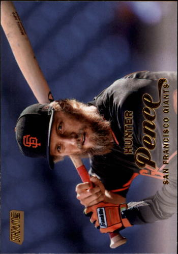 Photo of 2017 Stadium Club Gold Foil #76 Hunter Pence