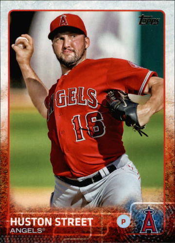 Photo of 2015 Topps #605 Huston Street