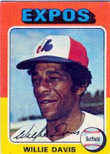 Photo of 1975 Topps #10 Willie Davis