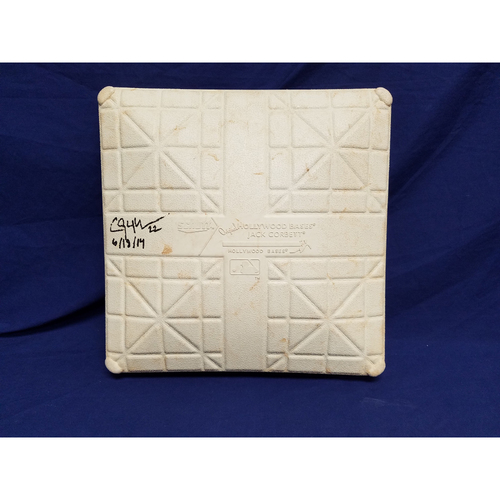 Photo of Kershaw's Challenge: Clayton Kershaw Autographed & Game-Used No Hitter Base
