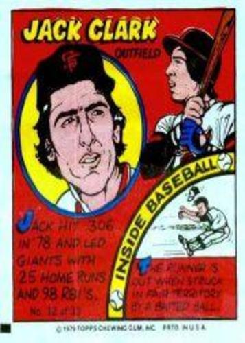 Photo of 1979 Topps Comics #32 Jack Clark