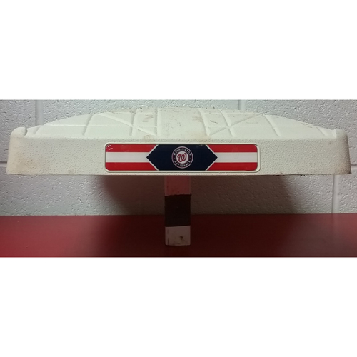 Photo of Game-Used Base: Victor Robles MLB Debut - 2nd Base
