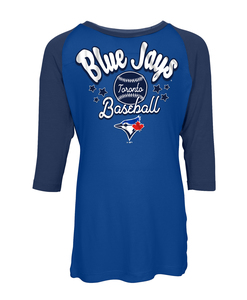 Toronto Blue Jays Youth Jersey Raglan T-shirt by New Era