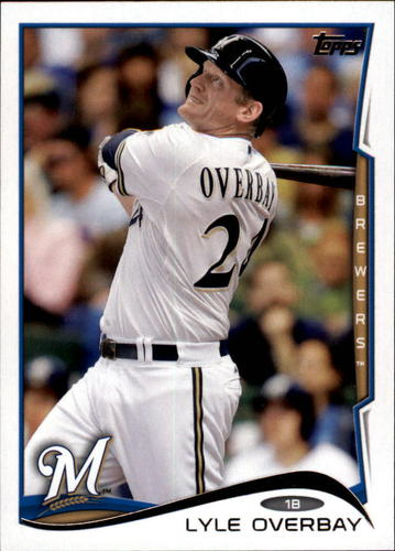 Photo of 2014 Topps Update #US123 Lyle Overbay