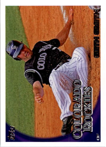 Photo of 2010 Topps #429 Seth Smith
