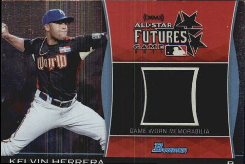 Photo of 2011 Bowman Draft Future's Game Relics #KH Kelvin Herrera