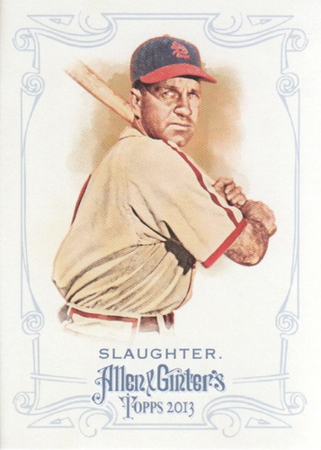 Photo of 2013 Topps Allen and Ginter #161 Enos Slaughter