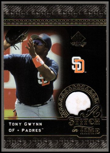Photo of 2007 SP Legendary Cuts A Stitch in Time Memorabilia #TG Tony Gwynn