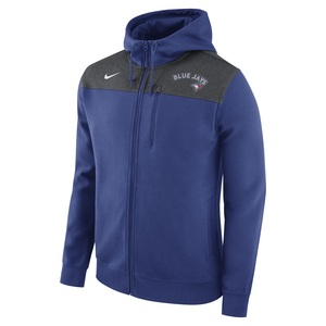 Toronto Blue Jays AV Full Zip Hoody Royal/Grey by Nike