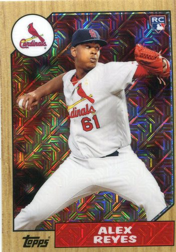 Photo of 2017 Topps '87 Topps Silver Pack Chrome #87AR Alex Reyes