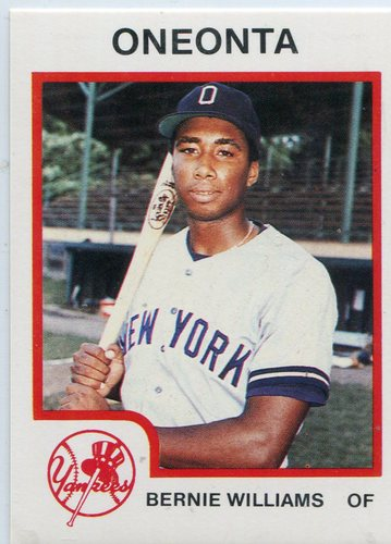 Photo of 1987 Oneonta Yankees ProCards #4 Bernie Williams